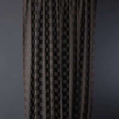 Минималистични завеси на квадрати Box - Обединена Текстилна Компания