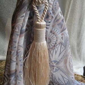Декоративен пискюл за завеси – Rustic Silk- 12112 – цв. 51